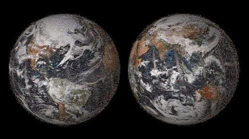 FOTO REALIDADE: Nasa divulga autorretrato da Terra em selfies
