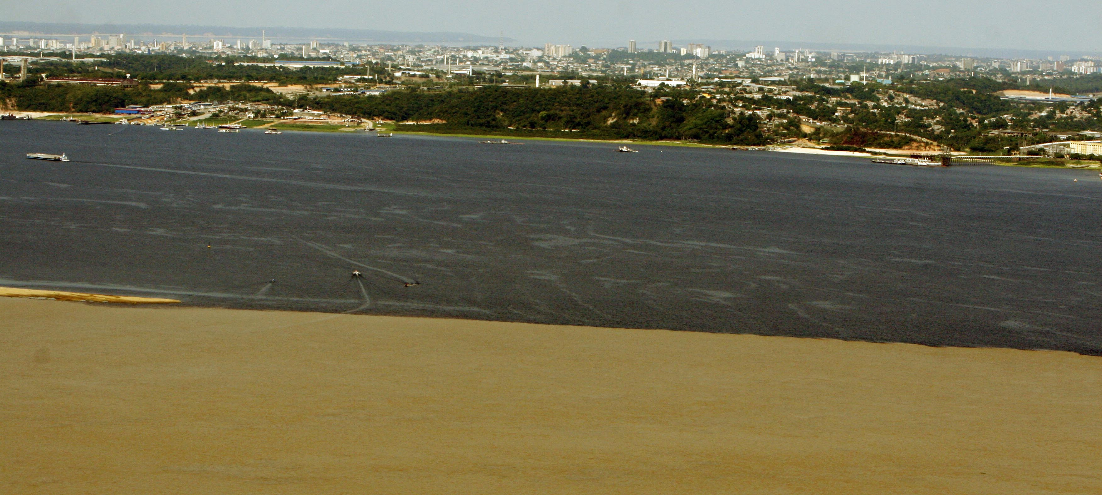 Encontro das Águas (Foto: Alberto César Araújo)