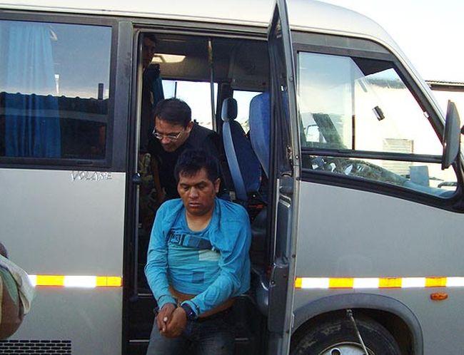 """Considerado um dos mais perigosos traficantes da fronteira, o peruano Jair Ardela Michhue, o """"Javier"""", foi preso pela Polícia Federal em 2011. (Foto: Divulgação da Polícia Federal)"""