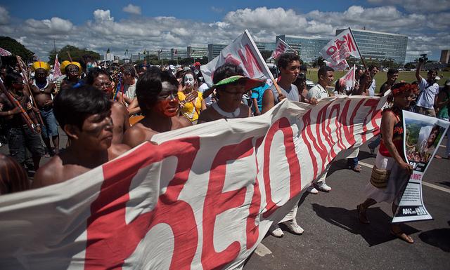 A batalha de Belo Monte