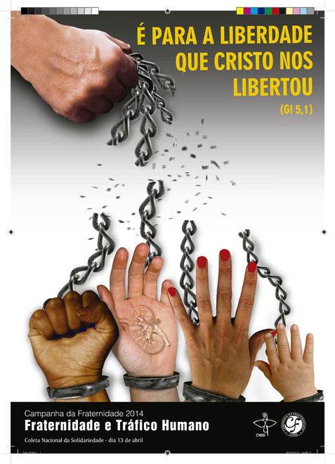Cartaz da Campanha da Fraternidade 2014 (Divulgação: CNBB)