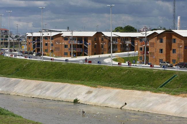 Residências do Prosamim aumentaram pressão sobre esgoto sanitário. Foto: Alberto César Araújo