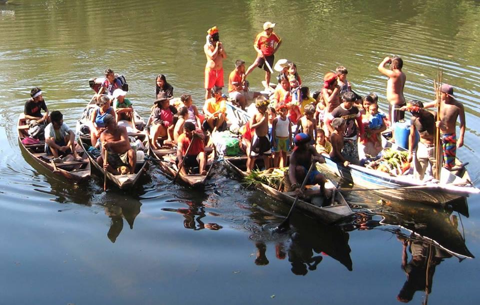 Indígenas tenharim vivem no sul do Estado do Amazonas.  Foto: Fernando Sebastião/Arquivo pessoal.