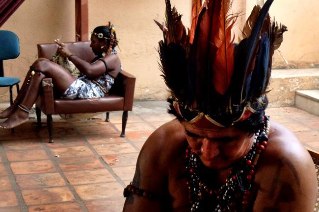 Índios ocupam há dois meses sede da Funai em Manaus