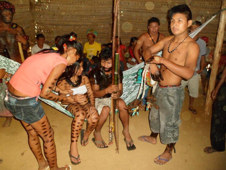 Na aldeia dos jiahui há vários índios doentes, diz liderança