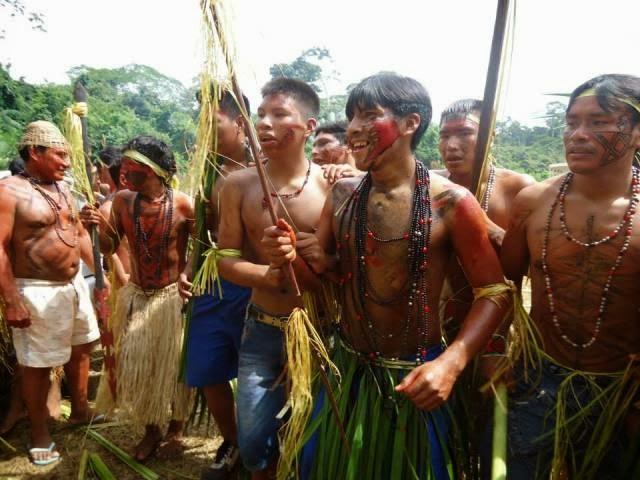 Índios katukina vivem no Estado do Acre. (Foto: Arquivo pessoal/Shere Katukina)