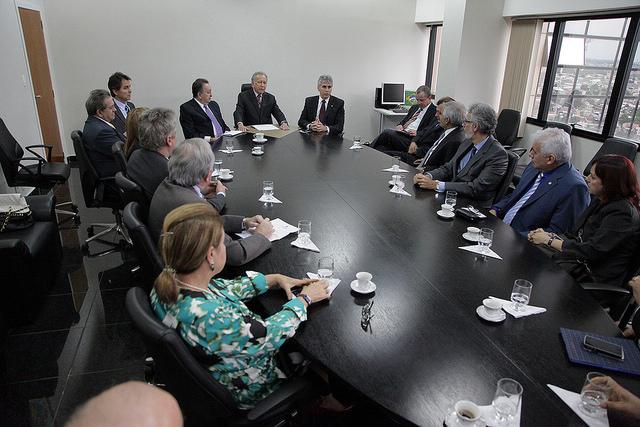 Desembargadores do TJ  receberam orientação do Conselho Nacional de Justiça  (Foto: Divulgação TJ-AM)