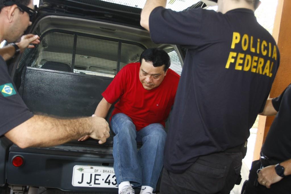 Adail Pinheiro foi preso pela Polícia Federal em 2008, mas ganhou a liberdade  por decisão de juiz (Foto: Alberto César Araújo/Amazônia Real)
