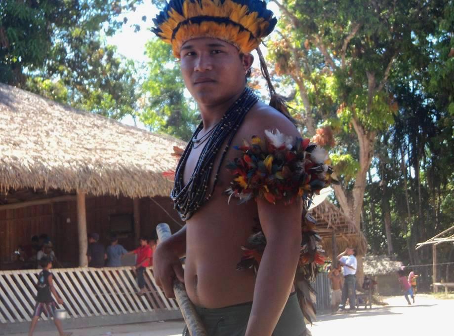 Índio tenharim revela insegurança de andar em Humaitá