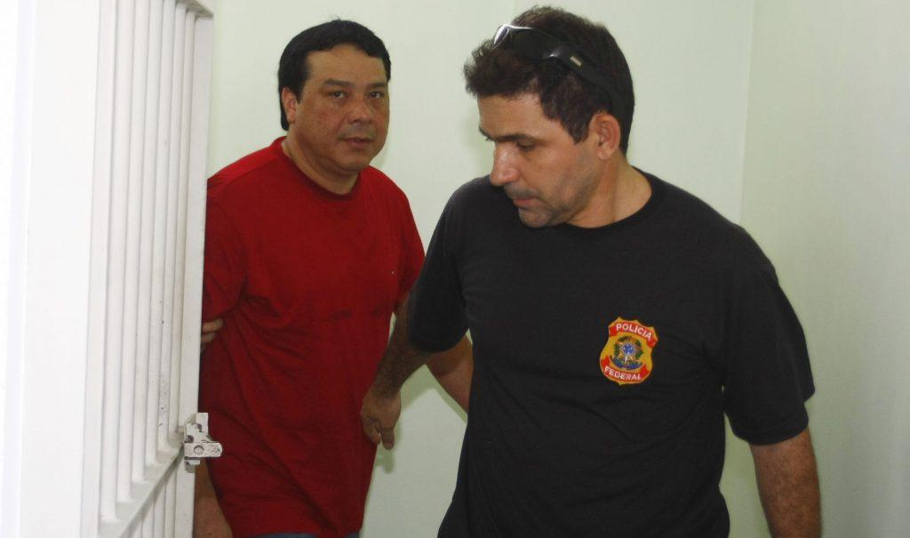 Adail Pinheiro foi preso em 2008 pela Operação Vorax pela Polícia Federal (Foto: Alberto César Araújo)
