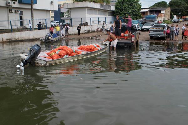 Fotógrafo registra enchente histórica em Porto Velho (RO)