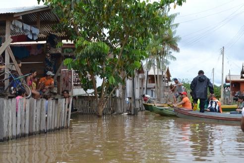 No Amazonas, enchentes atingiram mais de 25 mil pessoas (Foto: Defesa Civil)