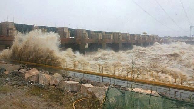 Usina hidrelétrica Santo Antônio em Porto Velho (Foto: Cley Medeiros)