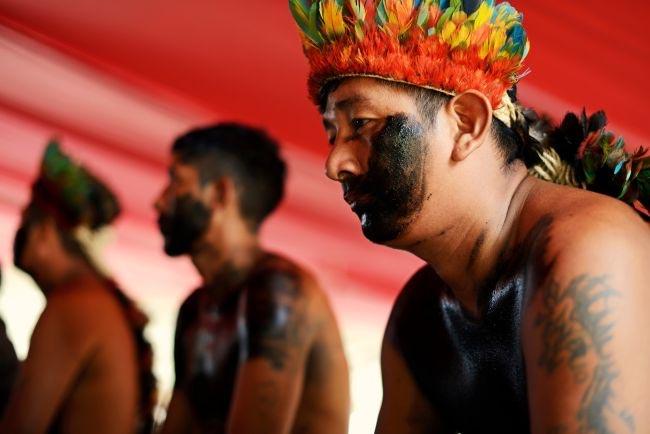 Índios tenharim estão isolados nas aldeias e temem ataques (Foto: Gabriel Ivan)