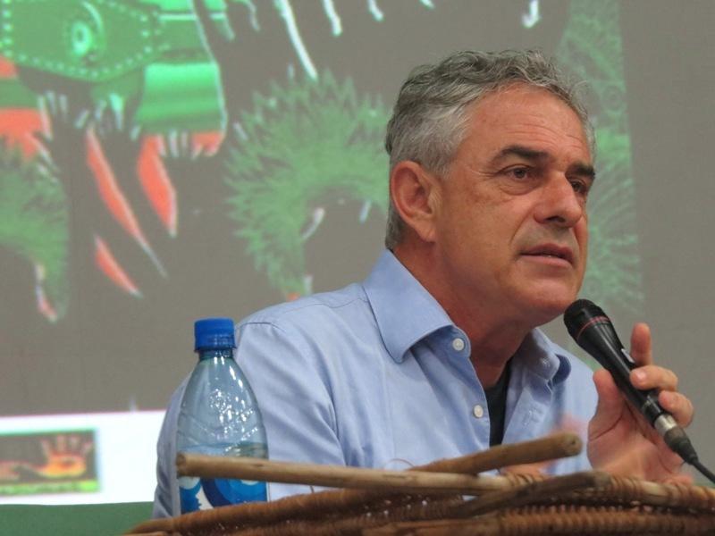 """Antropólogo Alfredo Wagner Berno de Almeida diz que há uma """"coalizão de interesses"""" na região. Foto: Elaíze Farias"""