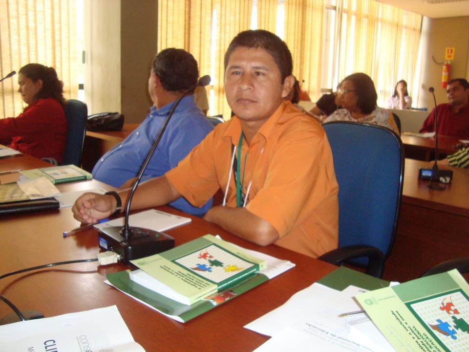 O líder indígena Ivanildo Tenharim, em foto de arquivo pessoal.