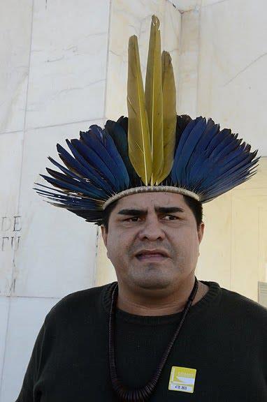 O ativista indígena Paulo José Ribeiro da Silva (Foto: Arquivo pessoal)