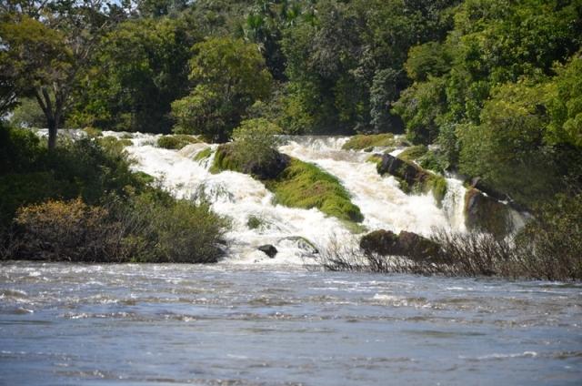 Corredeira da bacia do Trombetas, no Pará. (Foto: Emmanuel de Almeida Farias Júnior)