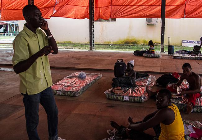 Governo do Acre mantém um abrigo provisório em Rio Branco  (Foto: Arison Jardim/Secom AC)