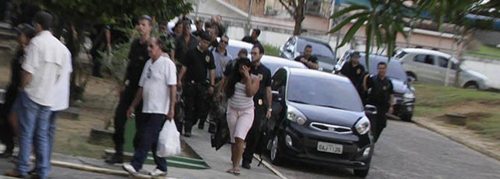 Dez acusados pelos crimes foram presos pela PF em maio de 2013 (Foto: Alberto César Araújo)