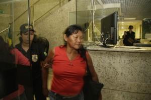 Segundo advogado, mulher acusada é inocente (Foto: Alberto César Araújo)