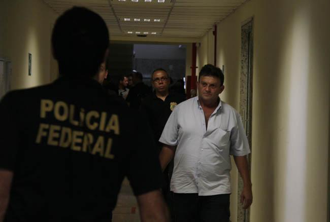 Acusado de participação nos crimes contra as meninas foi preso pela PF (Foto: Alberto César Araújo)