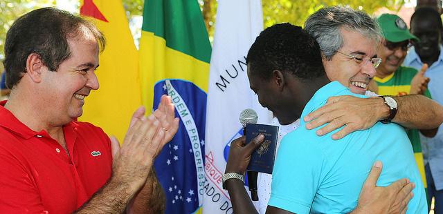 Tráfico de pessoas: Menino haitiano diz que pedirá perdão à sua mãe