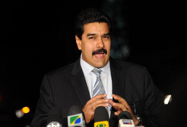 O presidente da Vanezuela, Nicolás Maduro (Foto: Fábio Rodrigues Pozzebom/ABR/FotosPúblicas)