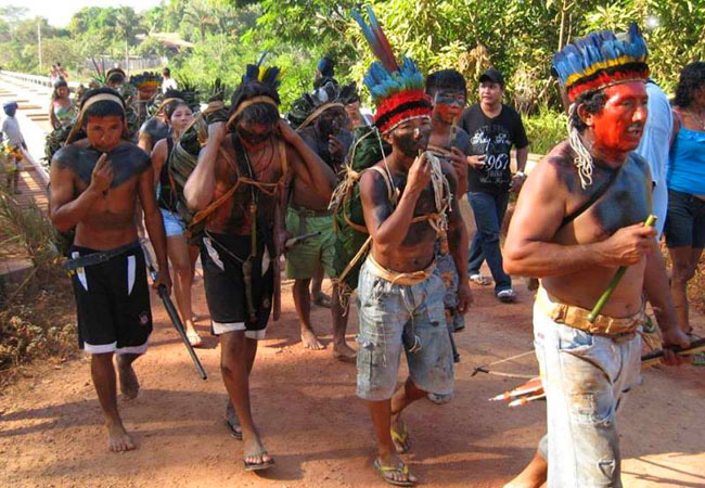 No sul do Amazonas, índios tenharim presos não têm banho de sol por falta de segurança