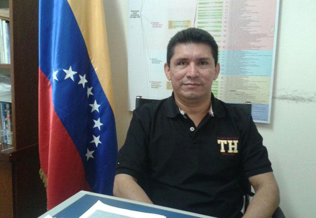 Cônsul adjunto da Venezuela em Roraima, José Martí Uriana Morán (Foto: Andrezza Trajano)