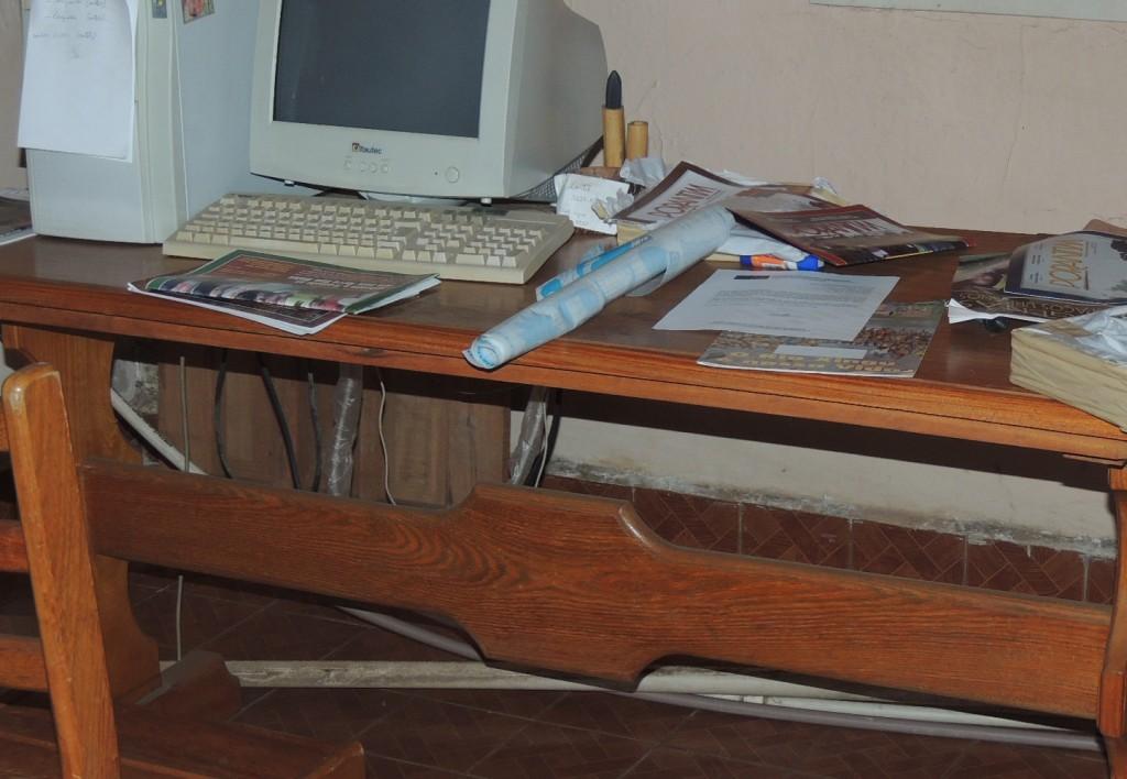Documentos de processos de demarcações foram furtados do Cimi (Foto: Lindomar Padilha)