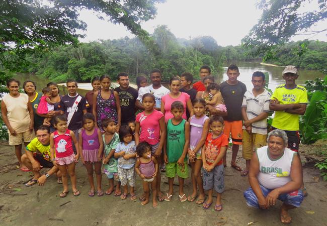 Governo determinou a retirada das famílias sem consultá-las (Foto: Elaíze Farias/AR)