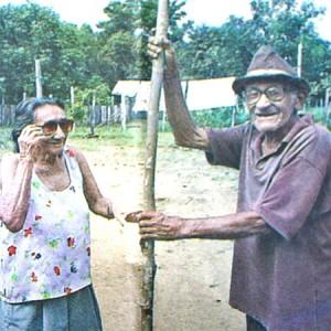 Raimunda Azedo e Antônio Batista (Foto: Arquivo pessoal)