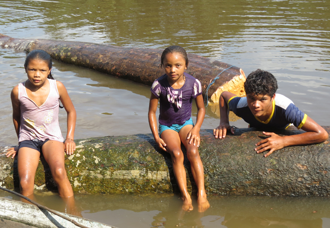 Bastidores da reportagem sobre a Comunidade Quilombola do Tambor