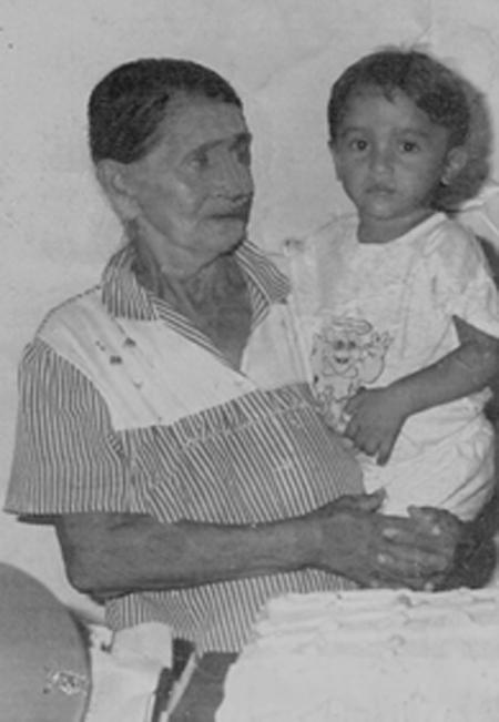 Maria de Souza Rodrigues Lisboa, Dona Nega Parteira (Foto arquivo pessoal)
