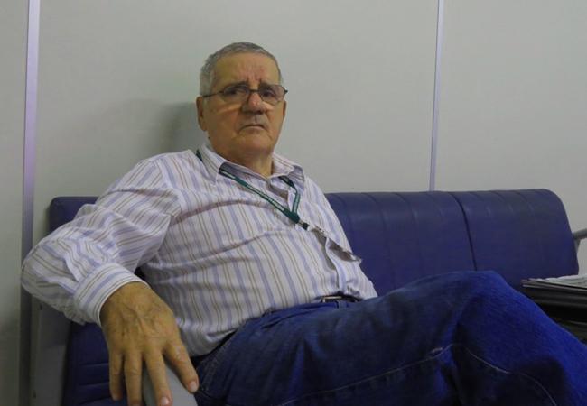 General de brigada Thaumaturgo Sotero Vaz no CMA, em Manaus (Foto: Elaíze Farias)