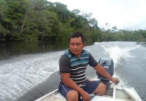 O indígena Verão Pirahã, etnia da Transamazônica (Foto: Arquivo pessoal)