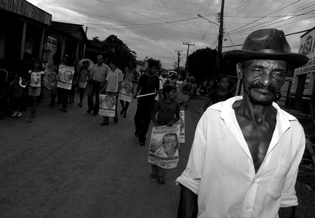 Agricultores de todas as regiões do Pará caminharam nas ruas de Anapu pela Paz