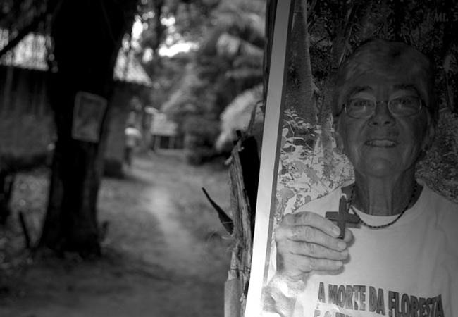 Dorothy Stang pregava a paz e a defesa da floresta na Amazônia (Foto: Alberto César Araújo /2005)