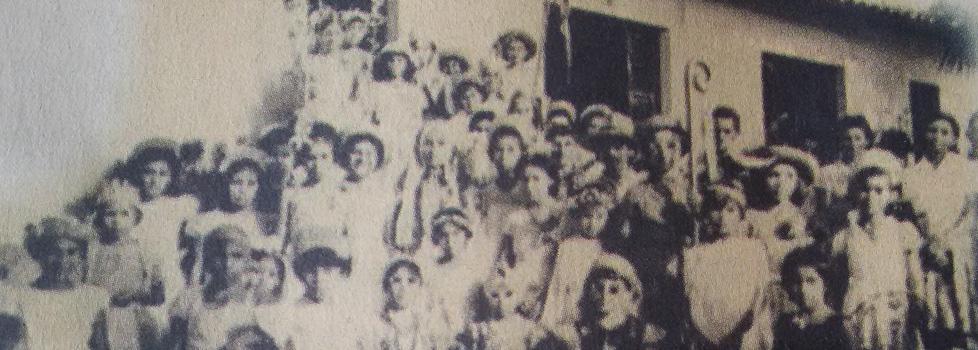 As Pastorinhas na Vila Amazônia em1962 (Foto: JG Araújo/Aquivo Pessoal)