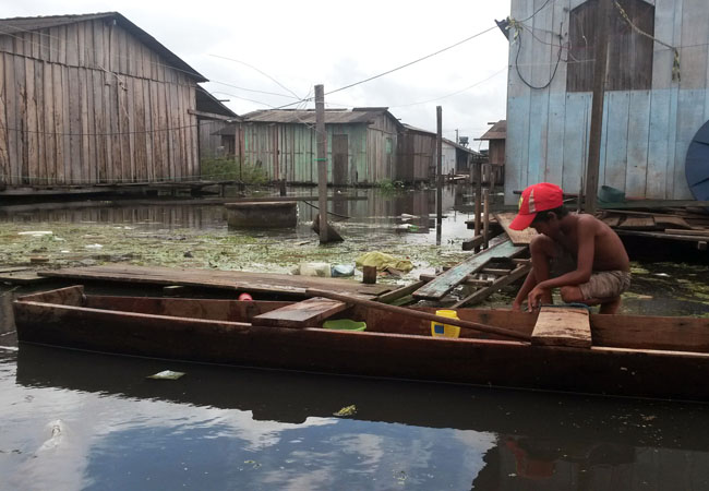 Bairro Invasão dos Padres será extinto para dar lugar ao reservatório de Belo Monte (Foto: Jéssica Portugal/AR)