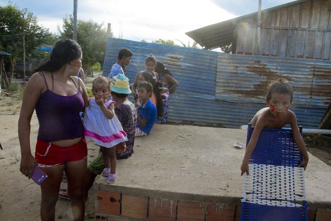 Moradores da Comunidade Nações Indígenas pertencem a 12 etnias. (Alberto César Araújo/FotoAmazonas)