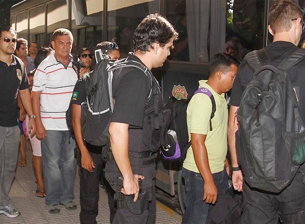 Dez acusados pelos crimes foram presos em 2013 pela PF (Foto: Alberto César Araújo)