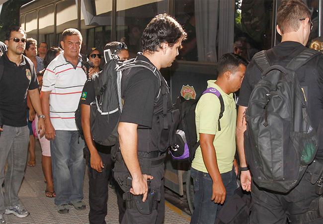 Dez acusados pelos crimes foram presos em 2013 pela PF (Foto: Alberto César Araújo/AmReal)