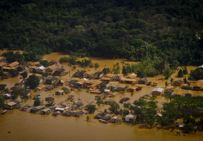Projeções apontam chuvas intensas e cheias mais rigorosas em parte da Amazônia