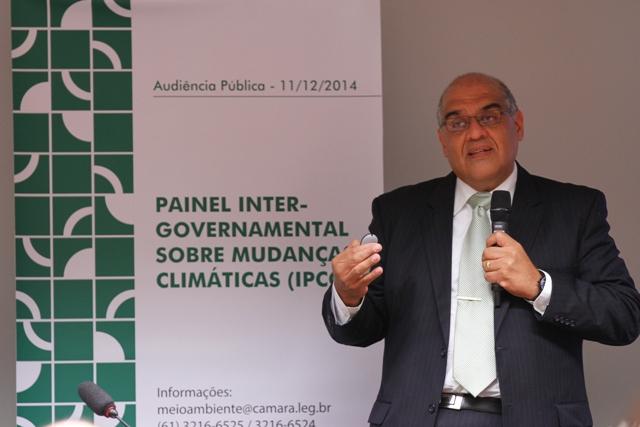 O pesquisador do Cemaden, José Marengo. (Foto: ASCOM/MCTI)
