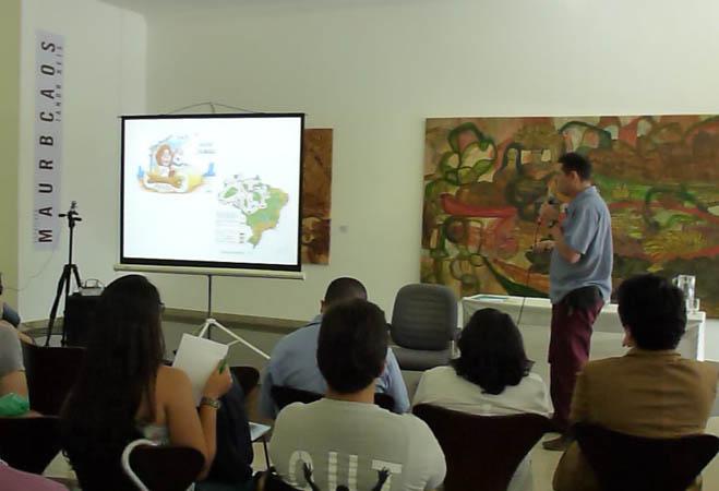 O geógrafo Carlos Durigan, do WCS Brasil. (FotoAmazonas: Alberto César Araújo)