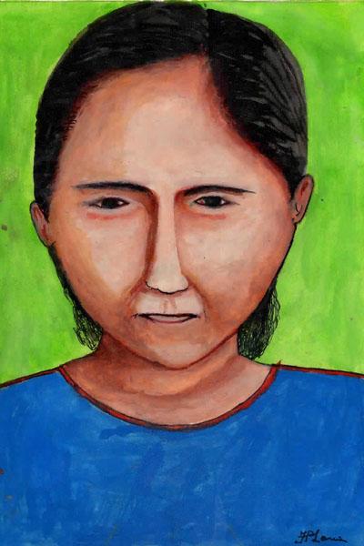 Ilustração do artista Feliciano Lana, da etnia Desana.