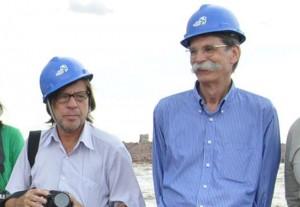 Os especialistas Philip Fearnside e Célio Bermann. (Foto: ESBR)
