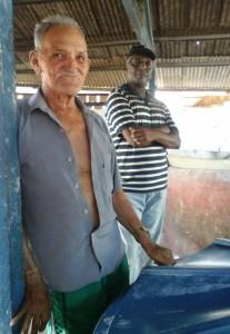 O produtor Nathan de Oliveira (blusa azul), resiste no Triângulo. (Foto: Ana Aranda/AmReal)